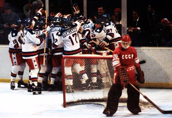 Miracle on Ice, February 22, 1980, Lake Placid, NY.