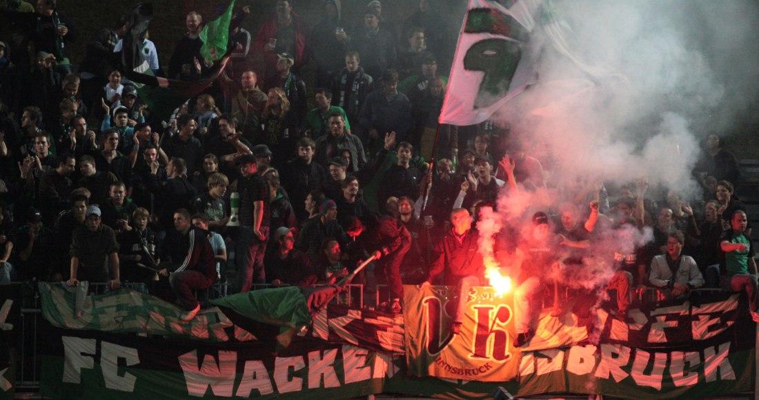 Fans of Wacker Innsbruck