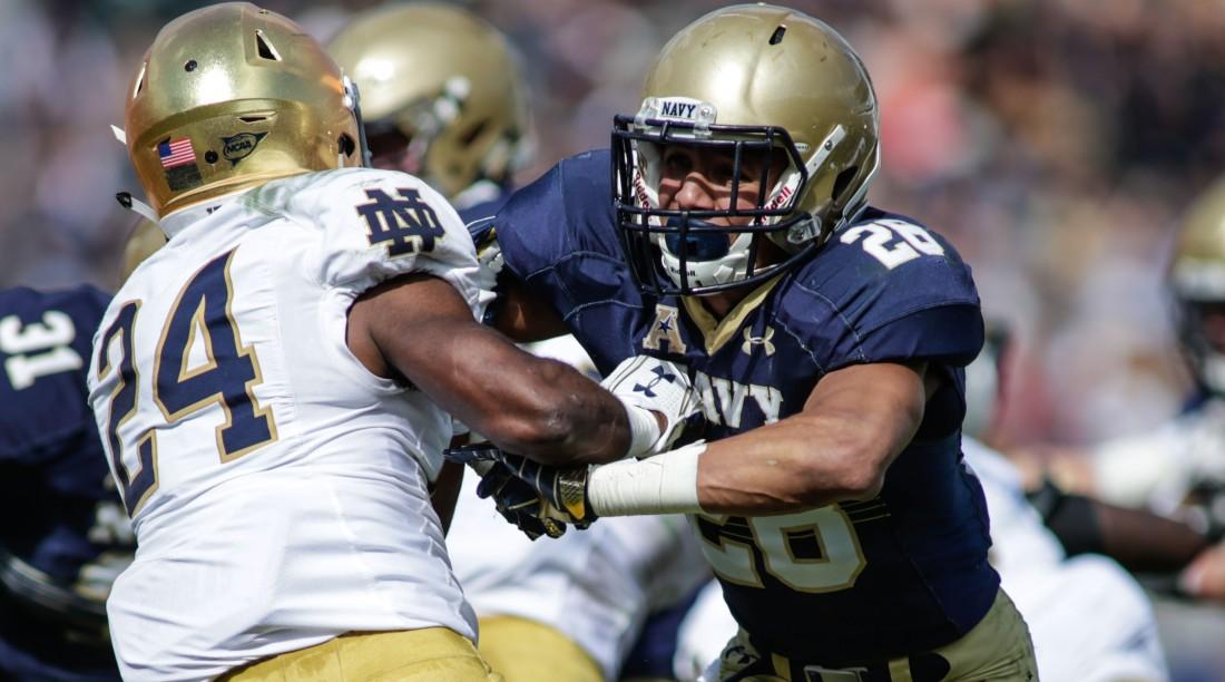 NCAA FOOTBALL: NOV 05 Notre Dame v Navy
