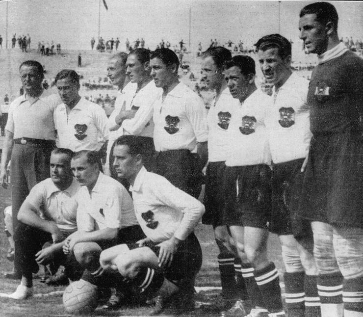 The Austrian Wunderteam in 1934