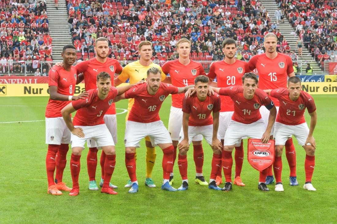 Austrian National Team, 2 June 2018.